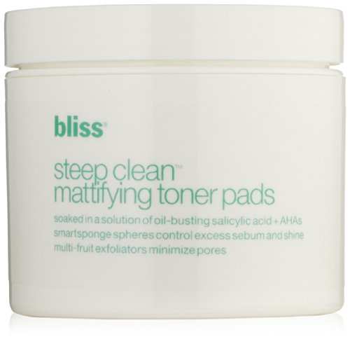 Bliss Steep Clean Mattifying Toner Pads