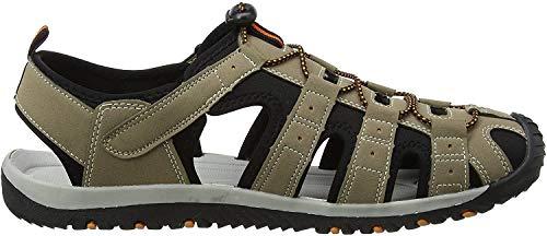 Gola Shingle 3, Sandalias Atléticas, Hombre, Beige (Taupe/black/burnt Orange), 45 EU
