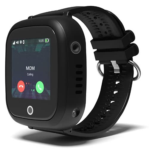 Turet Kids Silicone Phone Smartwatch with GPS Locator - Goldfish (Black)