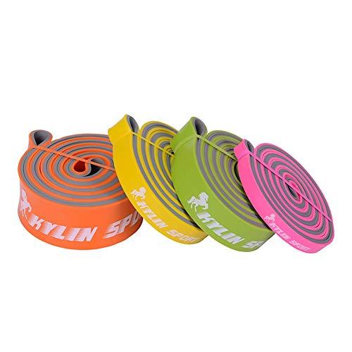 ZEH Elastische Spannung Widerstand-Bänder stellten, Übungs-Schlauch-Kit Set Pilates Workout Sportausrüstung Sportstudio im Haus FACAI (Color : Set D)