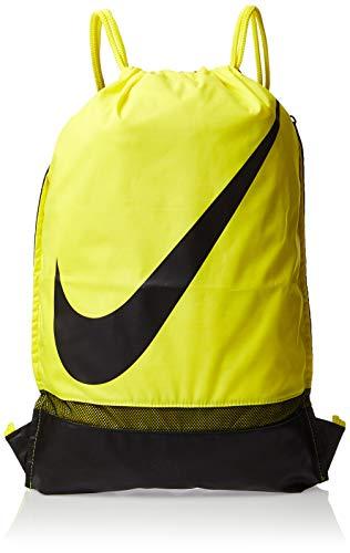 Nike Unisex– Erwachsene NK Academy GMSK Turnbeutel, Opti Yellow/Black/Black, One Size