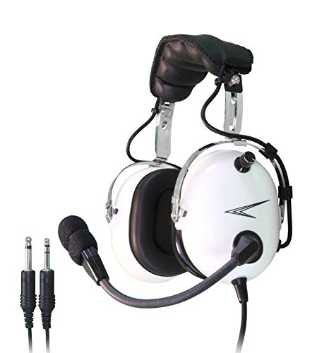 Cobra C20W Pilot Aviation Headset (White)