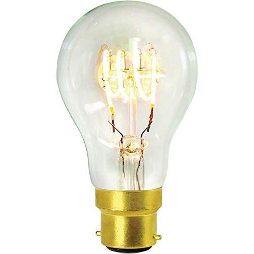 Girard Sudron 716667-LED GLS A60 LED-gloeilamp, E27, Edison-fitting, helder, zeer warm wit, 240 lumen, dimbaar, 4 W