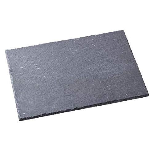 Leistenen plaat grijs 30x20cm, Vesperplank, snijplaat