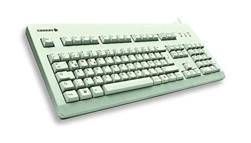 Cherry G80-3000 Tastatur (UK-Englisch, 105-Tastenanzahl, PS/2) hellgrau