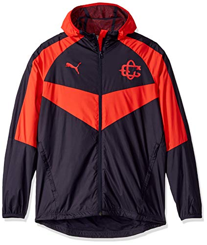 PUMA Men's Chivas Light Weight Jacket, red New Navy, L