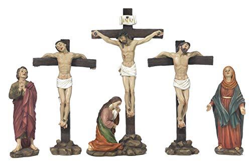 Paben Religiöse Artikel Osterkrippe, Kreuz Jesus, 6 Motive, 5 Stück 21,8