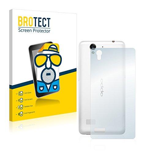 BROTECT 2X Entspiegelungs-Schutzfolie kompatibel mit Oppo Mirror 5s (Rückseite) Bildschirmschutz-Folie Matt, Anti-Reflex, Anti-Fingerprint