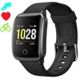 "Smart Watch Health Exercise Fitness Trackers with Heart Rate/Sleep Monitor, Smartwatch 1.3"" Color"