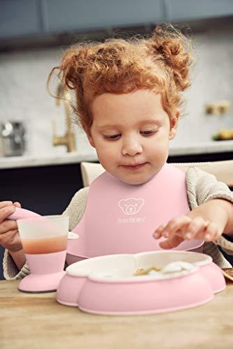 『ベビービョルン 【日本正規品保証付】 ベビーディナーセット パウダーピンク』の5枚目の画像