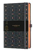 カステリミラノ ノート ミディアム 7mm 横罫 COPPER CASTELLI MILANO 新柄 (RICE GRAIN COPPER)