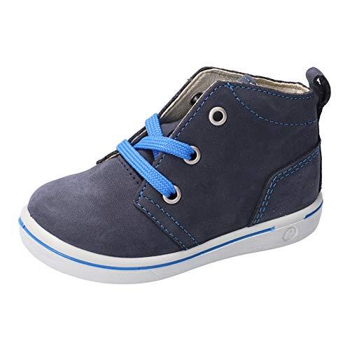 RICOSTA Pepino garçon Bottes, Boots Jill, Gamin Chaussures bébé,Chaussure à Lacets,Flexible,Largeur: Normale (WMS),Nautic,26 EU / 8 Child UK