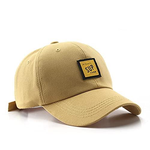 YIERJIU Gorra Gorras Beisbol Gorra de béisbol de algodón para Mujeres y Hombres Sombreros con Parche Sup Sombrero Snapback de Moda Gorras Deportivas de Verano al Aire Libre Unisex,A