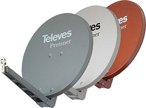 Televes s85qsd-z–Antenne (10,7–12,75GHz, 39.5dBi, 850mm, 950mm, 9.3kg, rot)