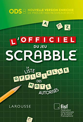 Officiel du jeu scrabble -l'