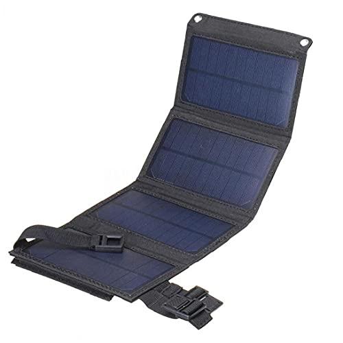 20WSolar Power Bank Panel solar portátil Cargador de batería plegable ideal para...