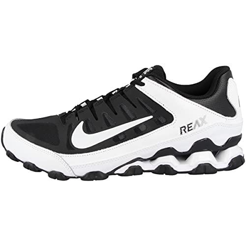 Nike Scarpe da corsa da uomo Reax 8 Tr Mesh, Black White Black 621716 019, 42.5 EU