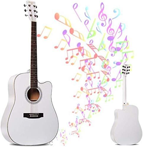 Guitarra eléctrica Guitarra acústica clásica Tamaño Total de 6 Cuerda de Acero...
