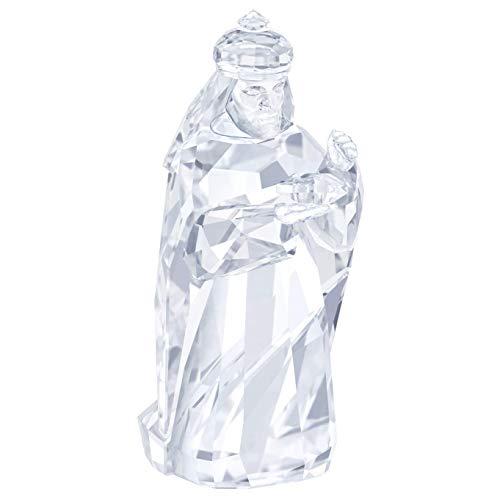 Swarovski Balthazar Crèche de Noël en Cristal Blanc 7,6 cm