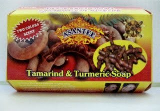 Asantee Tamarind and Turmeric Soap : 6 Pieces
