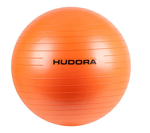 HUDORA Gymnastik-Ball, orange, 65 cm - Fitness-Ball - 76756