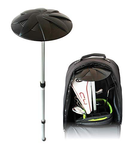 Pro-Tekt Unisex-Adult Travel Cover Accessory Golftaschen-Zubehör, Schwarz/Silber, One Size