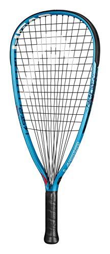 HEAD Innegra Laser 180 Club Racquetball Racket - Pre-Strung Head Light Balance Racquet, Teal/Black