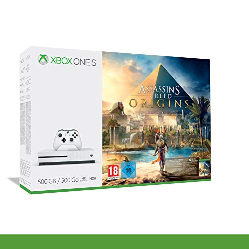 Xbox One S 500 Go + Assassin's Creed Origins [Bundle]
