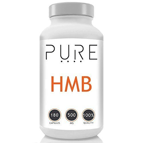 Bodybuilding Warehouse Pure HMB Capsules from Leucine 500mg - Amino Acid Supplements - Lean Muscle Growth & Recovery - 180 Caps