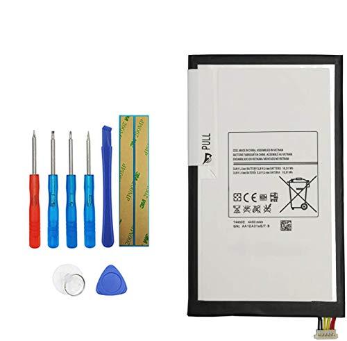 Upplus T4450E T4450C - Batteria di ricambio compatibile per Samsung Galaxy Tab 3 8.0, SM-T3110 Galaxy Tab 4 8.0 SM-T330 SM-T335 SM-T337V con kit di attrezzi