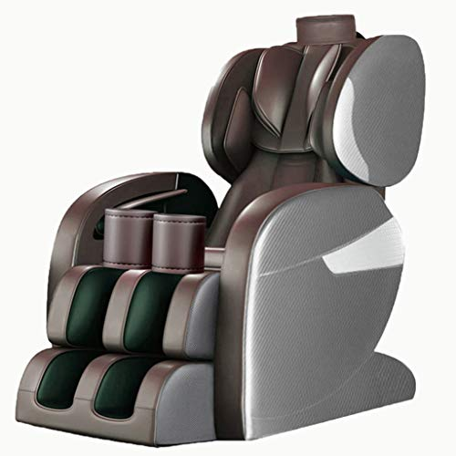 Review Mostbest Massage Chair Full Body Electric Massage Chair Recliner for Home Office Living Room Zero-Gravity 3D Space Capsule with Heating LCD Control