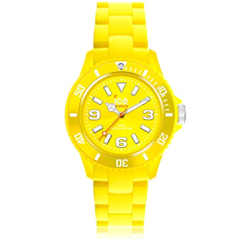 Ice-Watch - ICE solid Yellow - Boy's wristwatch with plaastic strap - 000616 (Small)
