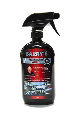 Barry's Restore It All - Stainless Steel Rescue (Single 16oz.)   Maintain the Beauty of your Stainless Steel! Remove: Sticky Residue, Smudges, Grease and More!