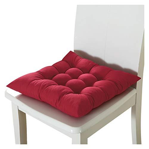 QWXZ Sitzbezug für Möbel Quadratische Sessel Pad Kissenbezug dickerer Sitzkissen for den ESS-Terrasse Home Office 37x37cm / 14.6x14.6 Langlebig und verschleißfest (Color :...