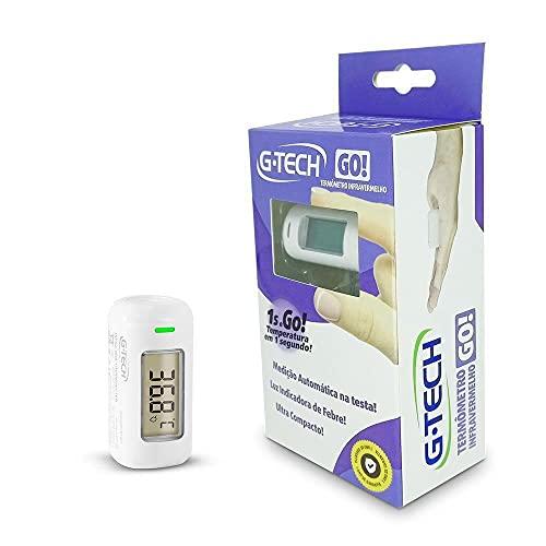 Termômetro de testa infravermelho com contato ultra compacto - medição instantânea G-TECH...