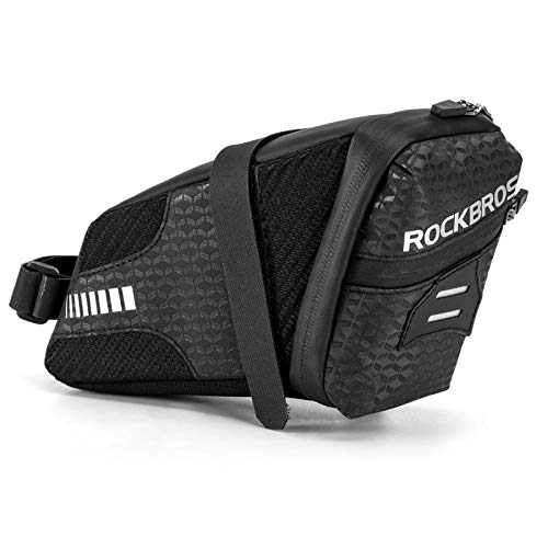 BestCool - Bolsa para sillín de bicicleta, impermeable, bolsa de almacenamiento para...