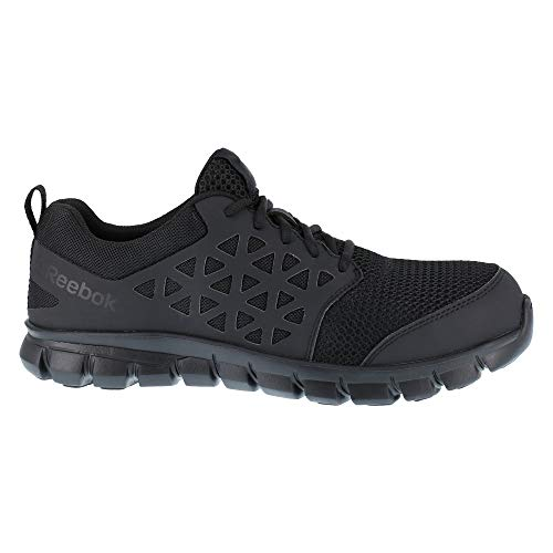 Reebok Work Sublite Cushion Work Comp Toe ESD Black 10 D (M)