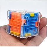 Zonster 1pc 3D Cubo Mágico Laberinto Laberinto Juquetes Aprendizaje Rompecabezas Laberinto De Bolas para Los Niños del Cabrito del Juguete