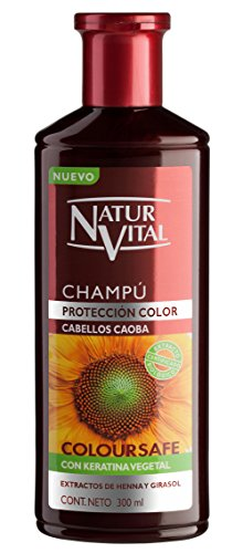 Naturaleza y Vida Champu Color Caoba Champú - 300 ml