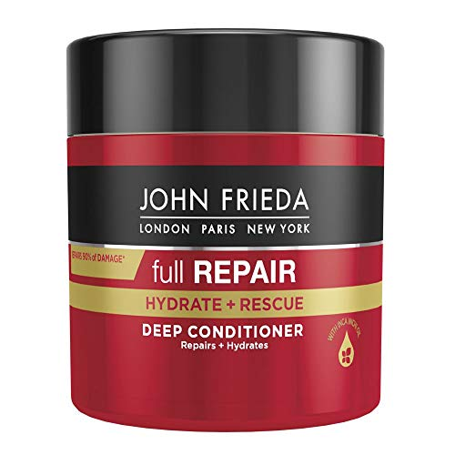 John Frieda Full Repair Hydrate and Rescue Deep Conditioner Treatment for Dry and Damaged Hair, 150 ml