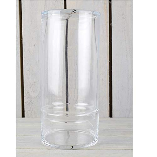 Wrzesniak Glaswerk Glas Handgemaakte Potje Cookie Zoete Bonbon Opbergpot Met Deksel/Terrarium Plantenpot 28,5 cm