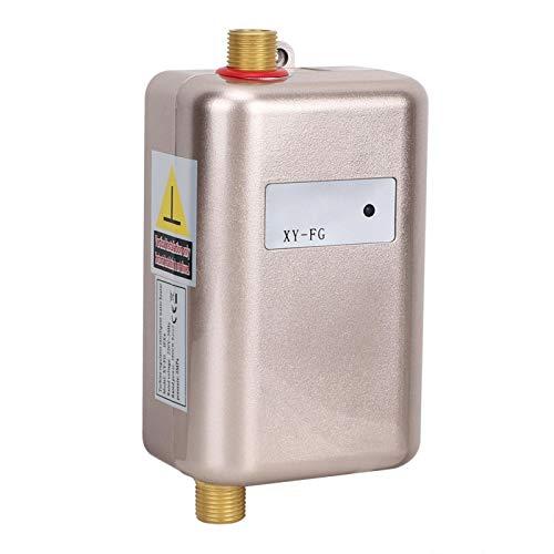 Atyhao Calentador de Agua, Mini Calentador de Agua instantáneo frío Dorado Caliente...