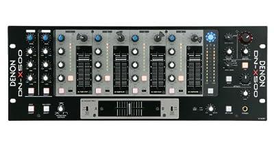 Denon Professional dnx-500-frusta for CLUB, Black