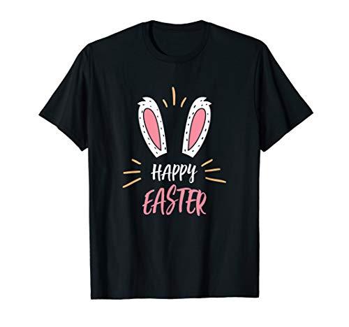 Frohe Ostern Osterhase Ostereier Hasen Geschenk T-Shirt