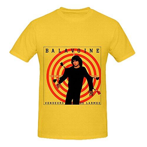 Sophia Janice Daniel Balavoine Vendeur De Larmes Jazz Hommes O Neck Custom Shirt Medium
