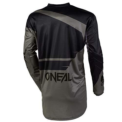 O'NEAL Element Racewear FR Jersey Trikot lang grau/schwarz 2020 Oneal: Größe: XXXL (64/66) - 2