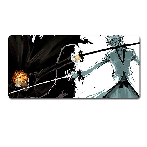Bleach Mouse Pad Apply Anime Mouse pad Large Mouse Pad Gamer Big Mouse Mat Computer Desk Mat XXL Keyboard Pad (90 x 40cm)