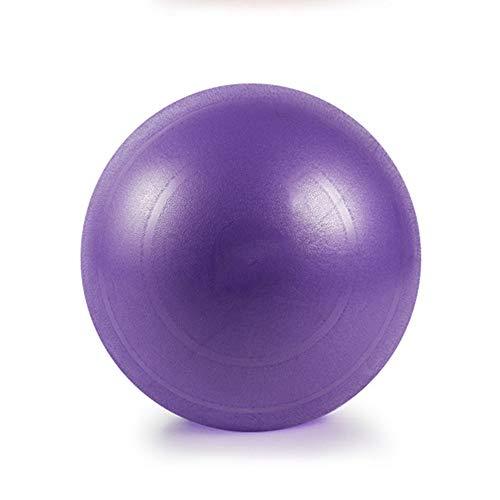 Gymnastikball Standard Größen inkl. Luft-Pumpe Fitness Yoga Core (Color : Purple, Size : 75cm)