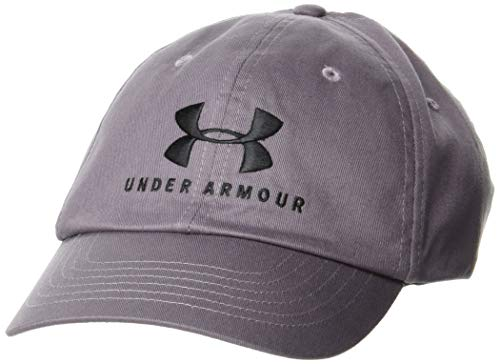 Under Armour Damen Favorite Sportstyle Kappe mit Logo Deckel, Slate Purple/Slate Purple/Black (585), OSFA