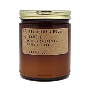 P.F. Candle Co. - No. 11: Amber & Moss Soy Candle (7.2 oz)